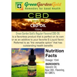 GREEN GARDEN GOLD REGULAR CBD-OIL