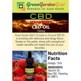 GREEN GARDEN GOLD STRAWBERRY CBD-OIL