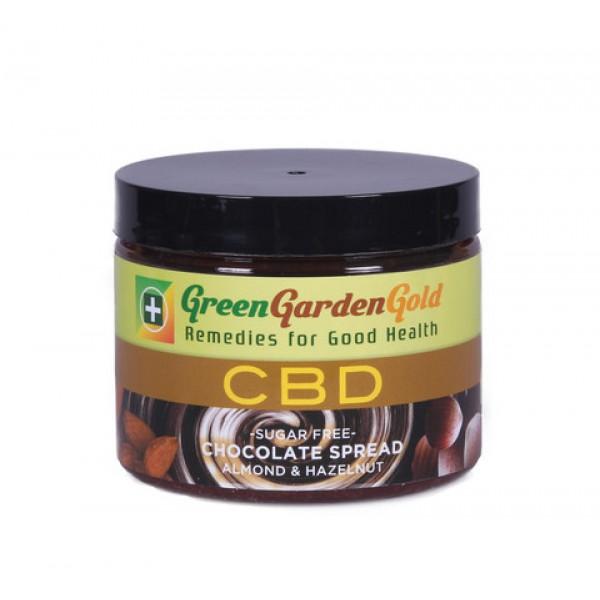 green garden gold cbd chocolate spread almond hazelnut - Green Garden Gold